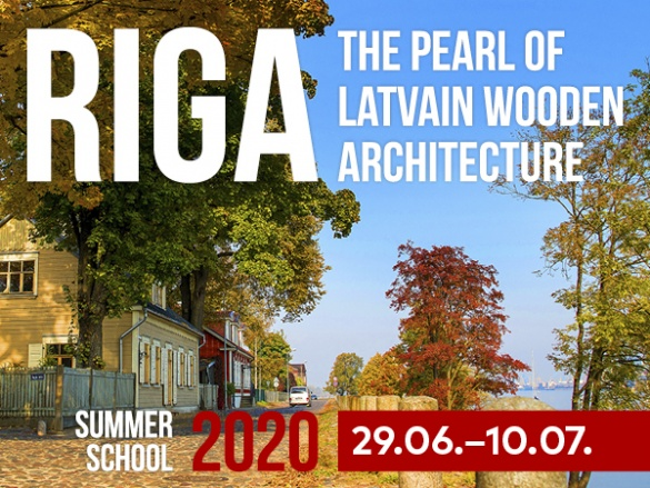 RTU - Riga - The Pearl Of Latvian Wooden Architecture