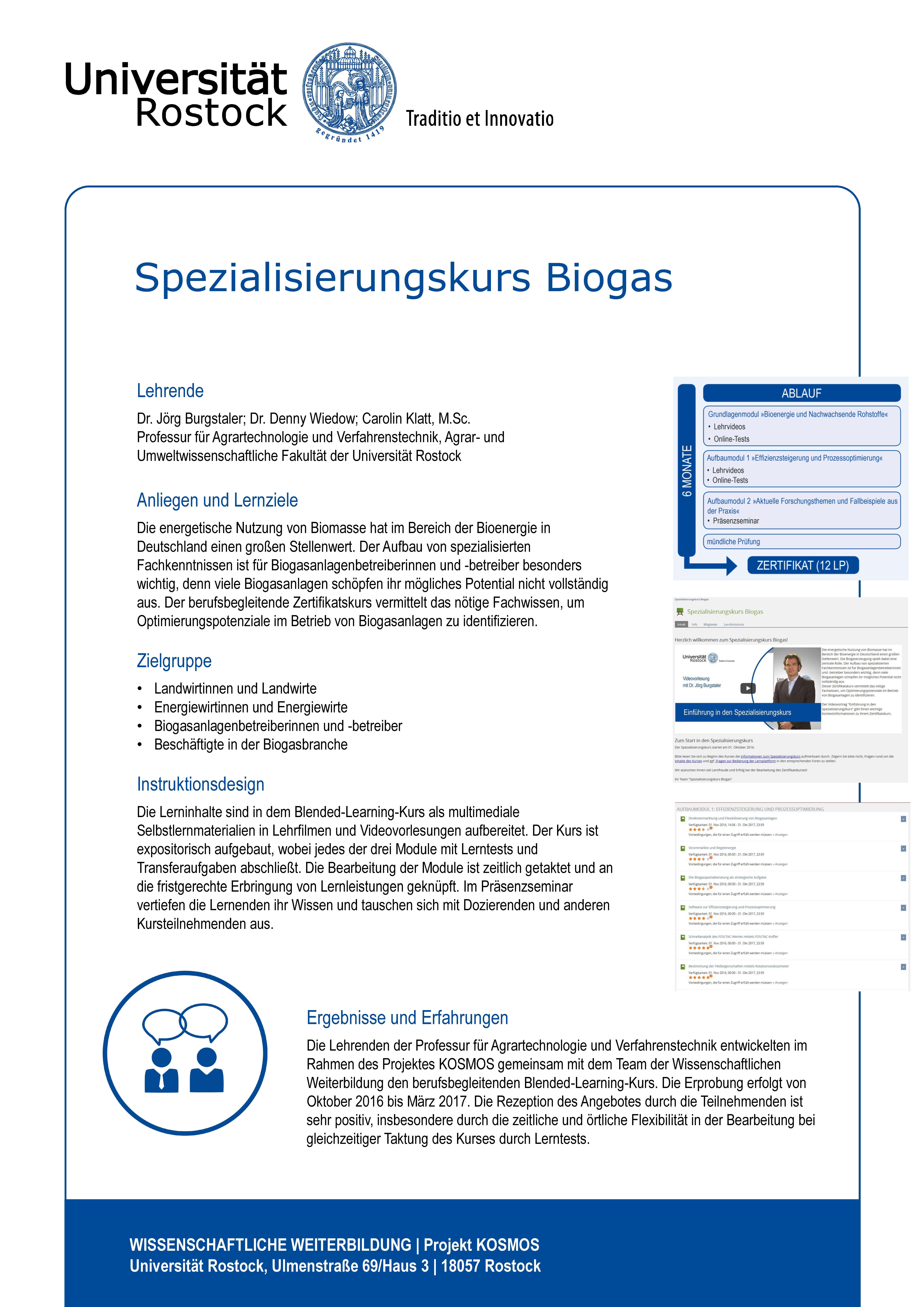 Markt der Möglichkeiten - University of Rostock