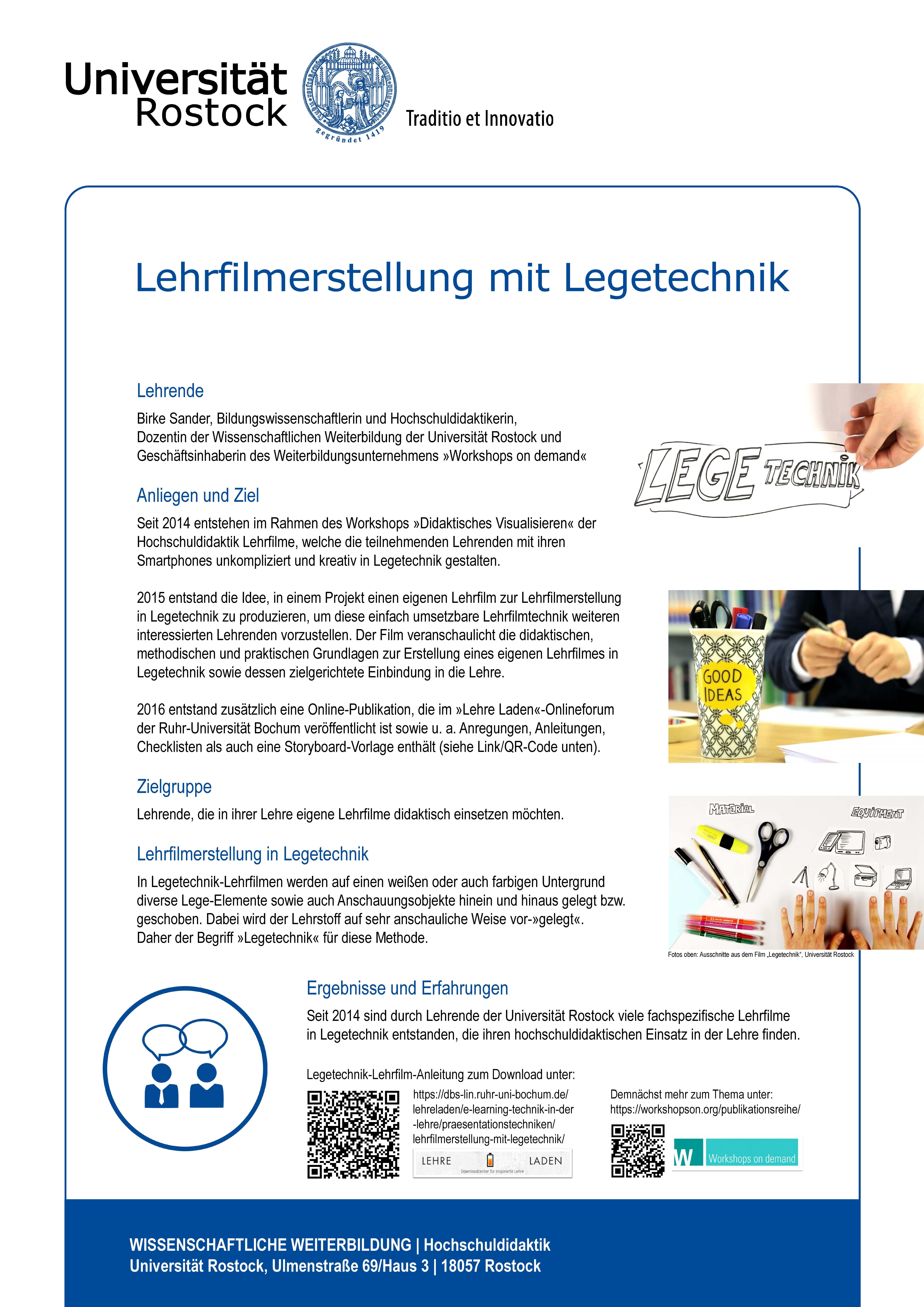 Markt der Möglichkeiten - Universität Rostock