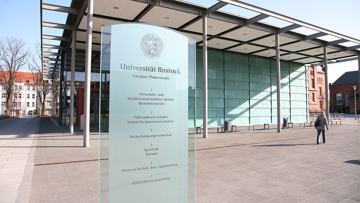 General information about studying at the University of Rostock