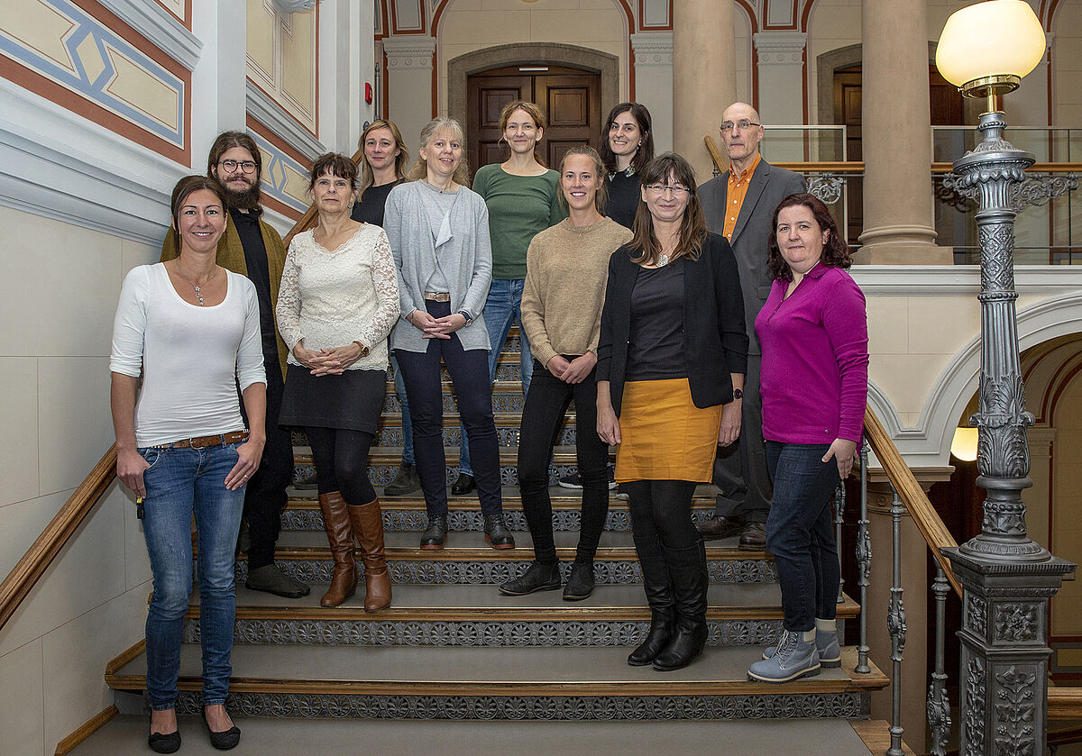 Team Diversity of the University of Rostock